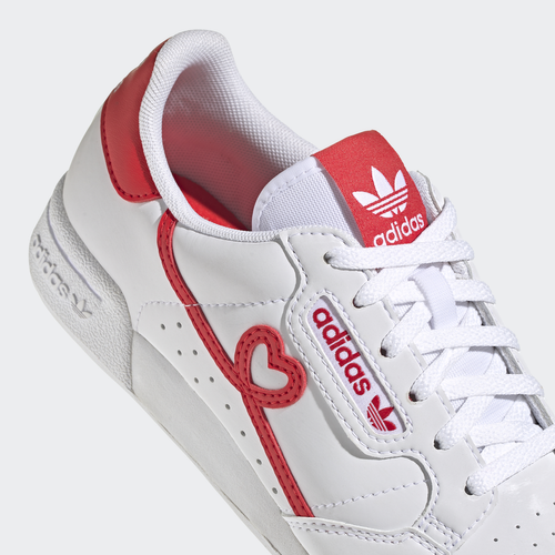 BUTY JUNIOR ADIDAS CONTINENTAL 80 SHOES BIAŁE FY2578