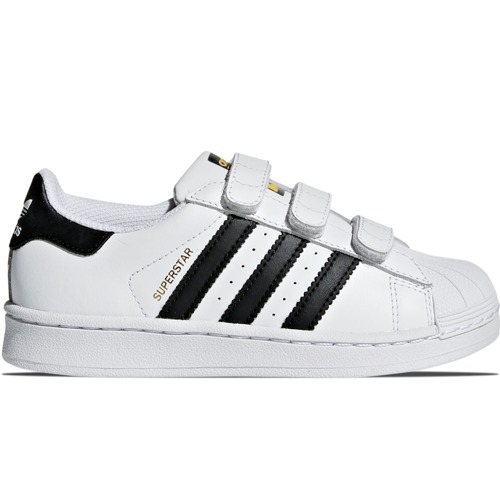 BUTY JUNIOR ADIDAS SUPERSTAR FOUNDATION BIAŁE B26070