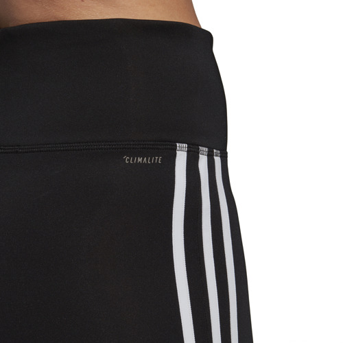 LEGGINSY DAMSKIE ADIDAS DESIGN 2 MOVE 3-STRIPES LONG CZARNE DU2040