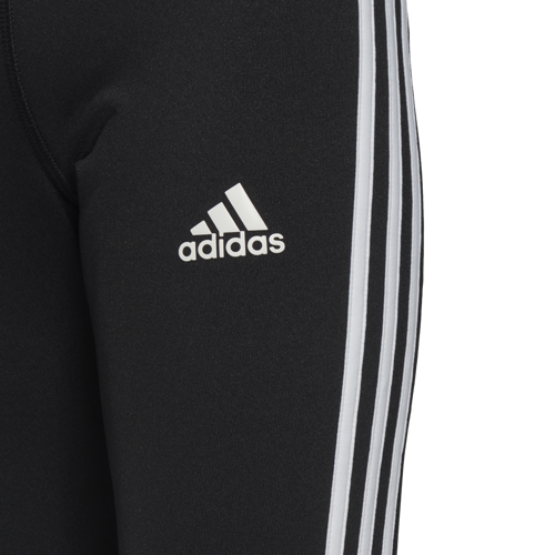 LEGGINSY JUNIOR ADIDAS 3/4 EQUIPMENT 3-STRIPES CZARNE DV2755