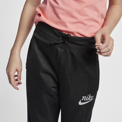 SPODNIE JUNIOR NIKE NSW ICON PANT TRACK FLEECE CZARNE AQ8842-010